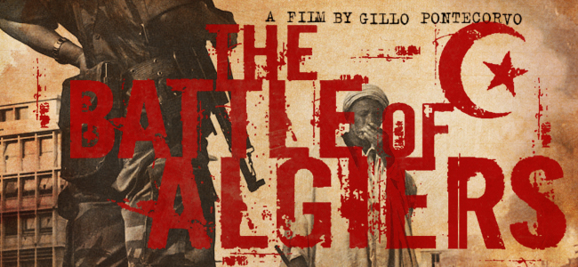 © Film Cover of  The Battle of Algiers  ,  1966, courtesy of Google.
