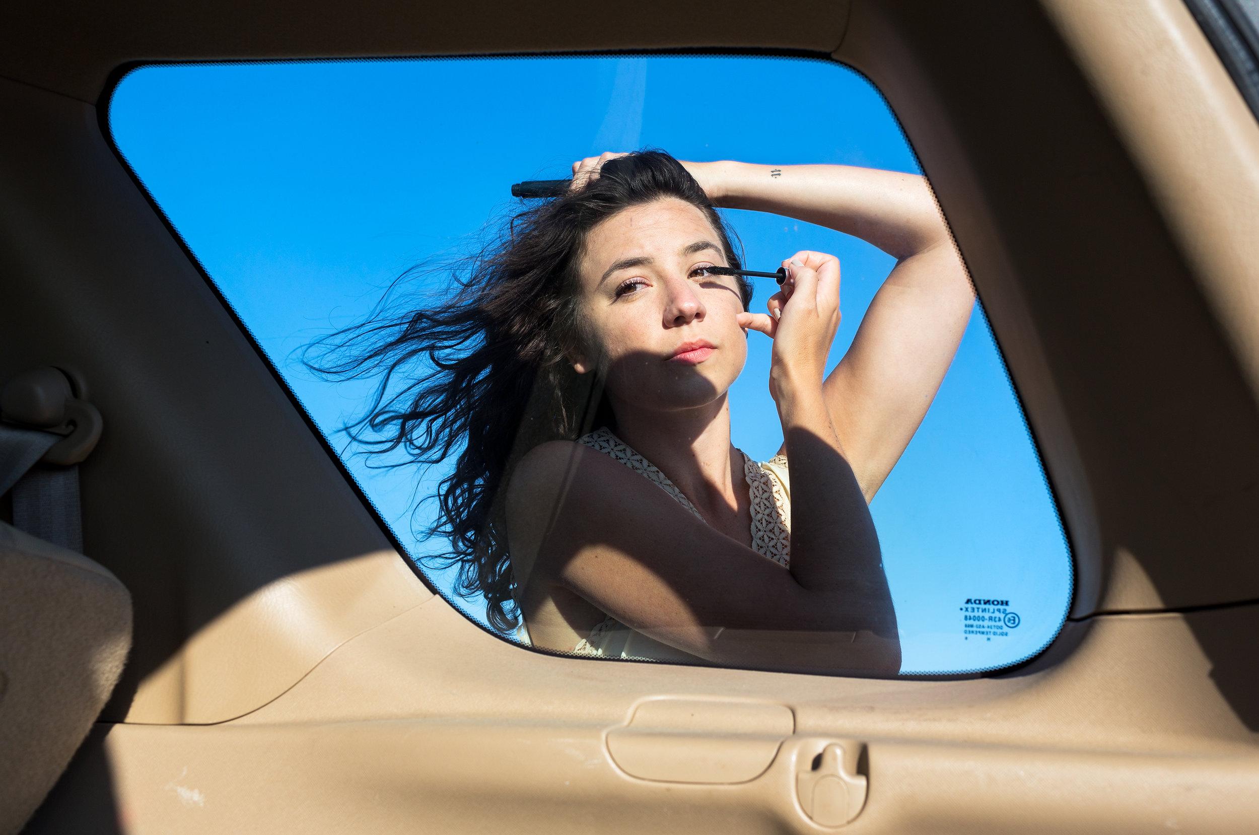 © Isabel Magowan, Through the Car Window