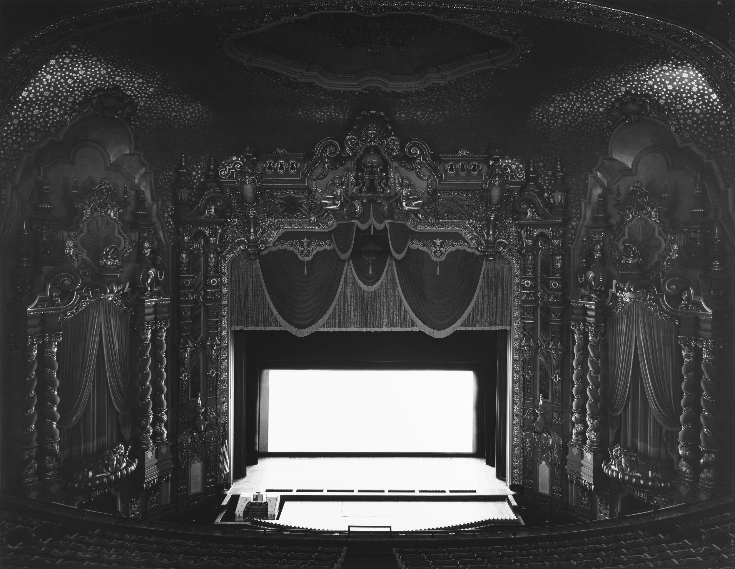 © Theaters by Hiroshi Sugimoto,Ohio Theater, Ohio, 1980