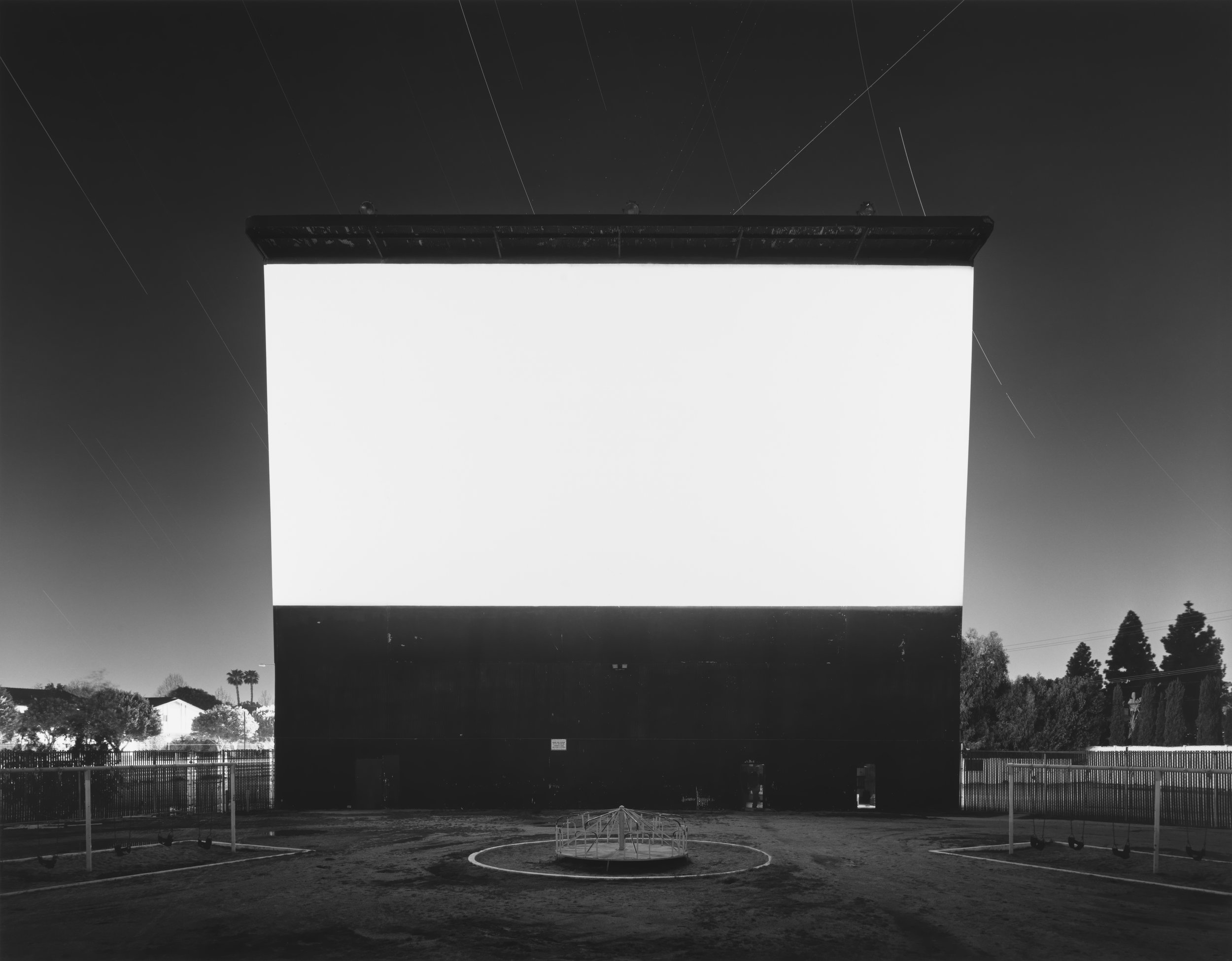 © Theaters by Hiroshi Sugimoto,Studio Drive-In, Culver City, 1993