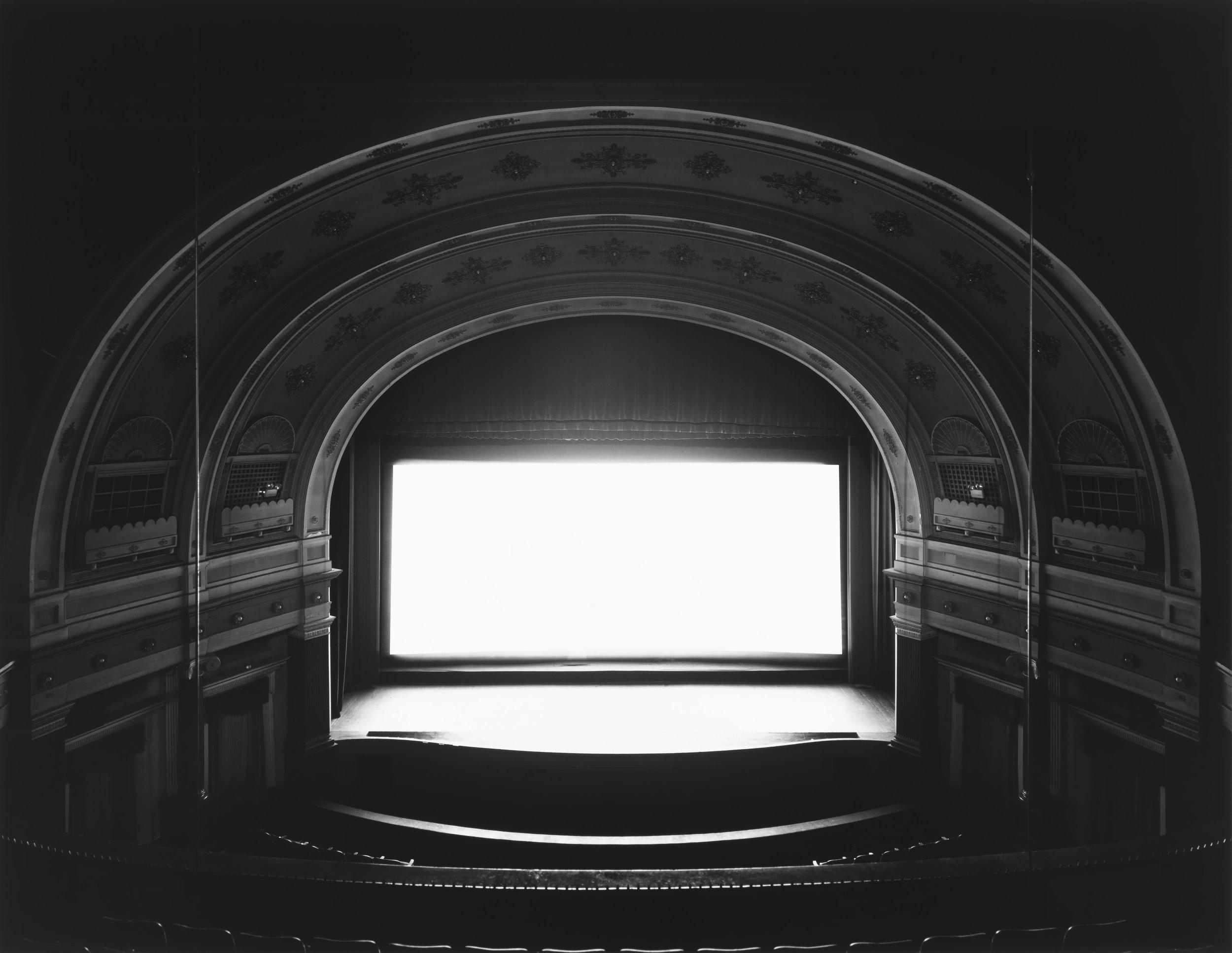 © Theaters by Hiroshi Sugimoto,Goshen, Indiana, 1980