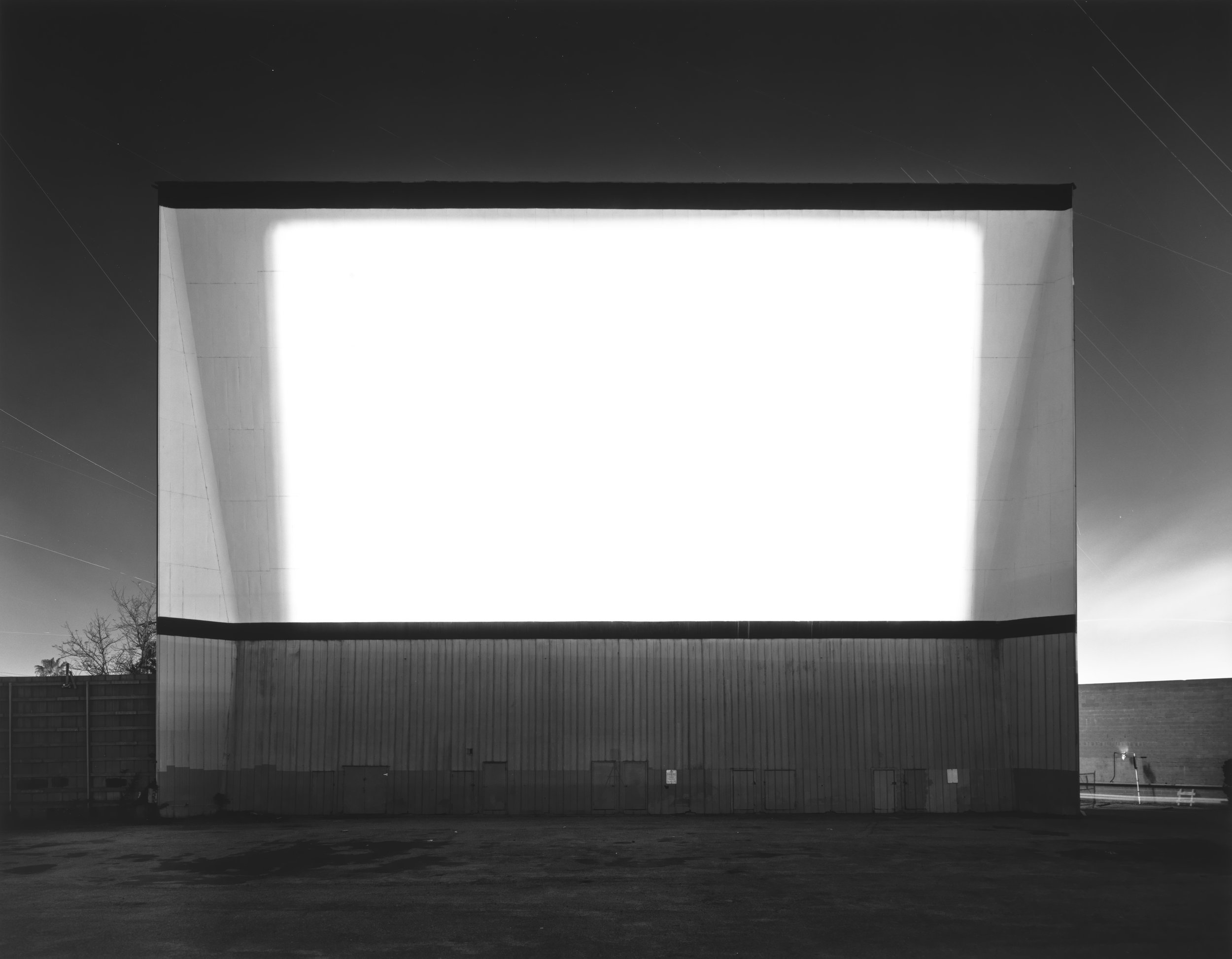 © Theaters by Hiroshi Sugimoto,Los Altos Drive-In, Lakewood, 1993