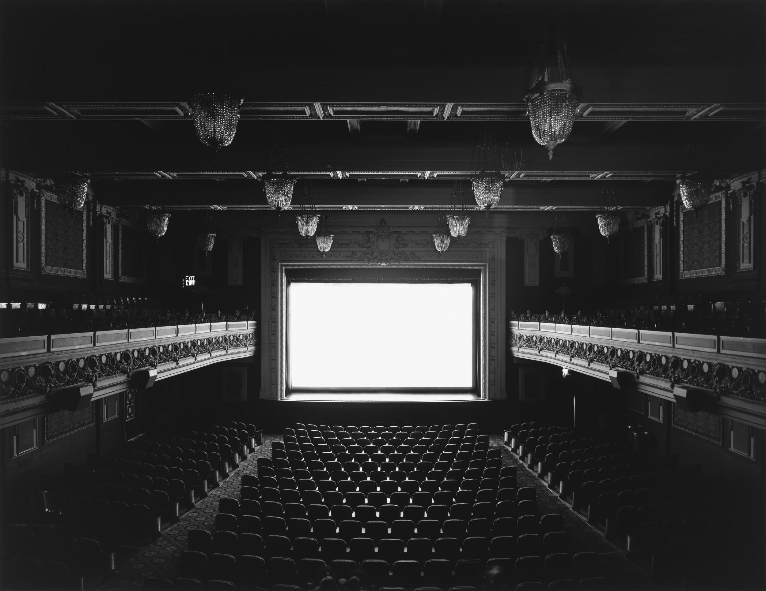 © Theaters by Hiroshi Sugimoto,Regency, San Francisco, 1992