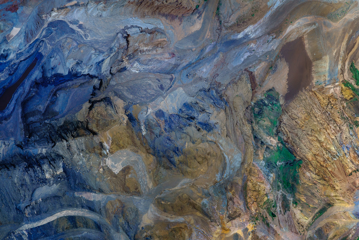 Oh Minas Gerais - New number 3 Aerial Photograph, Feb 2016. Wet season in Brazil. Photograph taken at Serra Três Irmãos, Minas Gerais. So far unable to identify the kind of mineral being extracted.