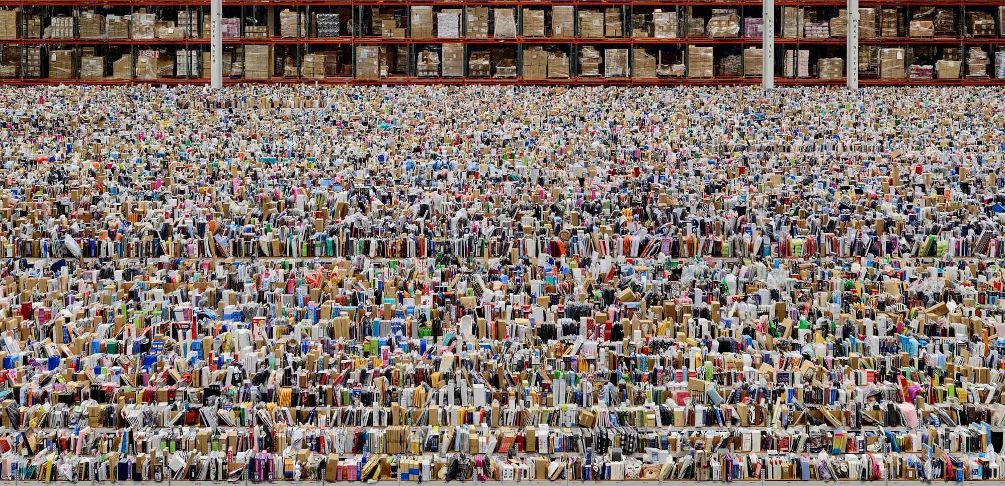 ANDREAS GURSKY   Ohne Titel XVIII/Untitled XVIII , 2015  Inkjet print  Framed  120 7/8 × 87 3/16 × 2 7/16 inches   © Andreas Gursky / 2016 Artists Rights Society (ARS), New York / VG Bild-Kunst, Bonn. Courtesy Gagosian.