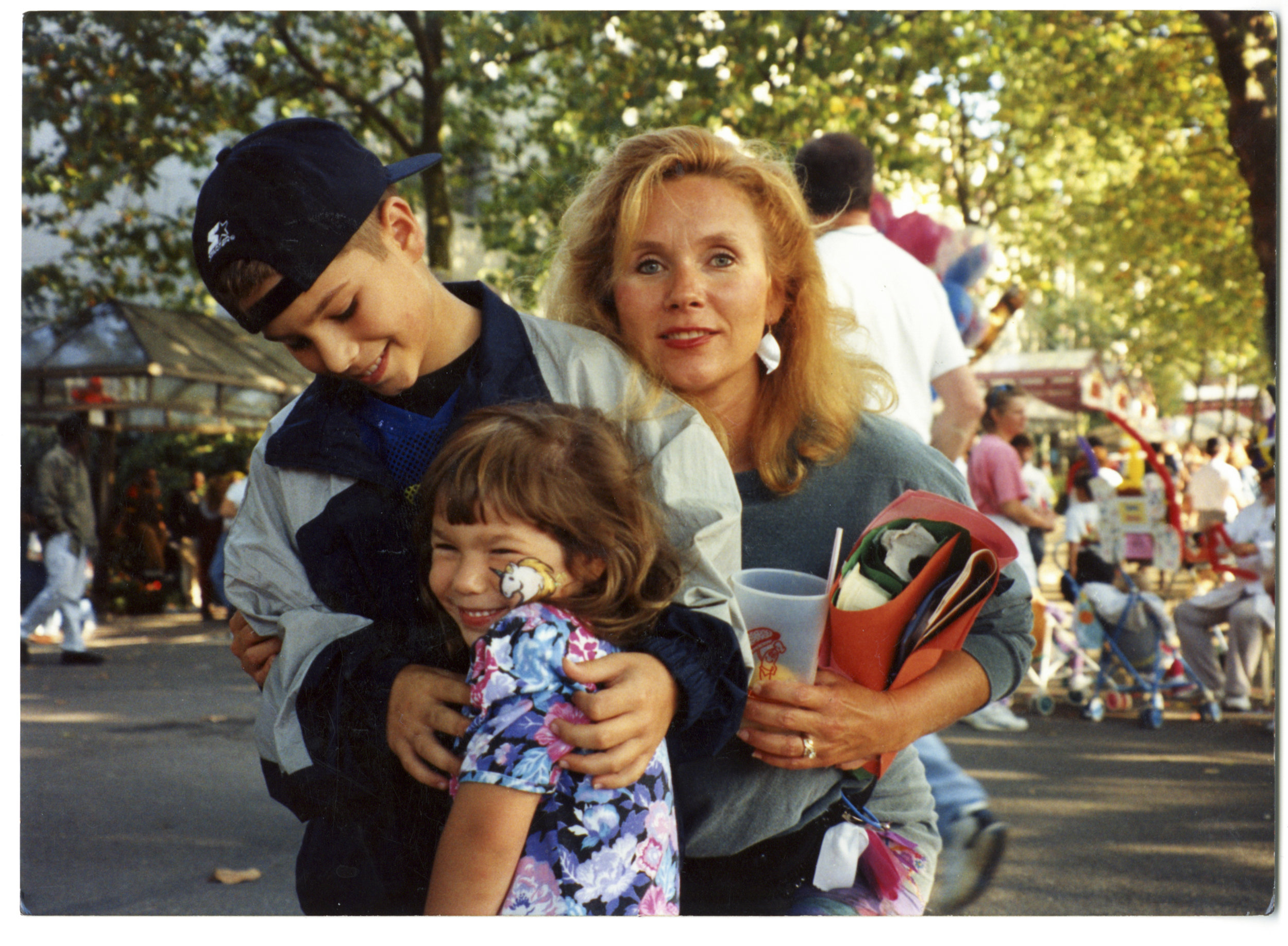 ©Melissa Spitz,  The last time Dad remembers Mom being 'Normal,' Bumbershoot, Seattle, Washington,  1994