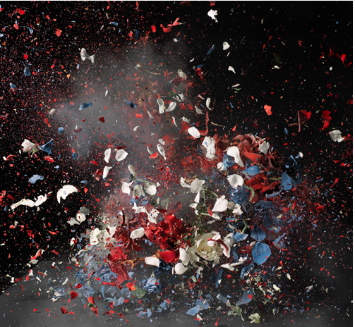 © Ori Gersht,  Time After Time : Blow Up No. 2 [2009] Light Jet Print mounted on aluminum 187 x 187 cm edition of 6