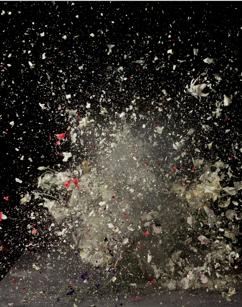 ©Ori Gersht,  Time After Time:  Blow Up No. 7 [2007] Light Jet Print mounted on aluminum 250 x 183 cm edition of 6