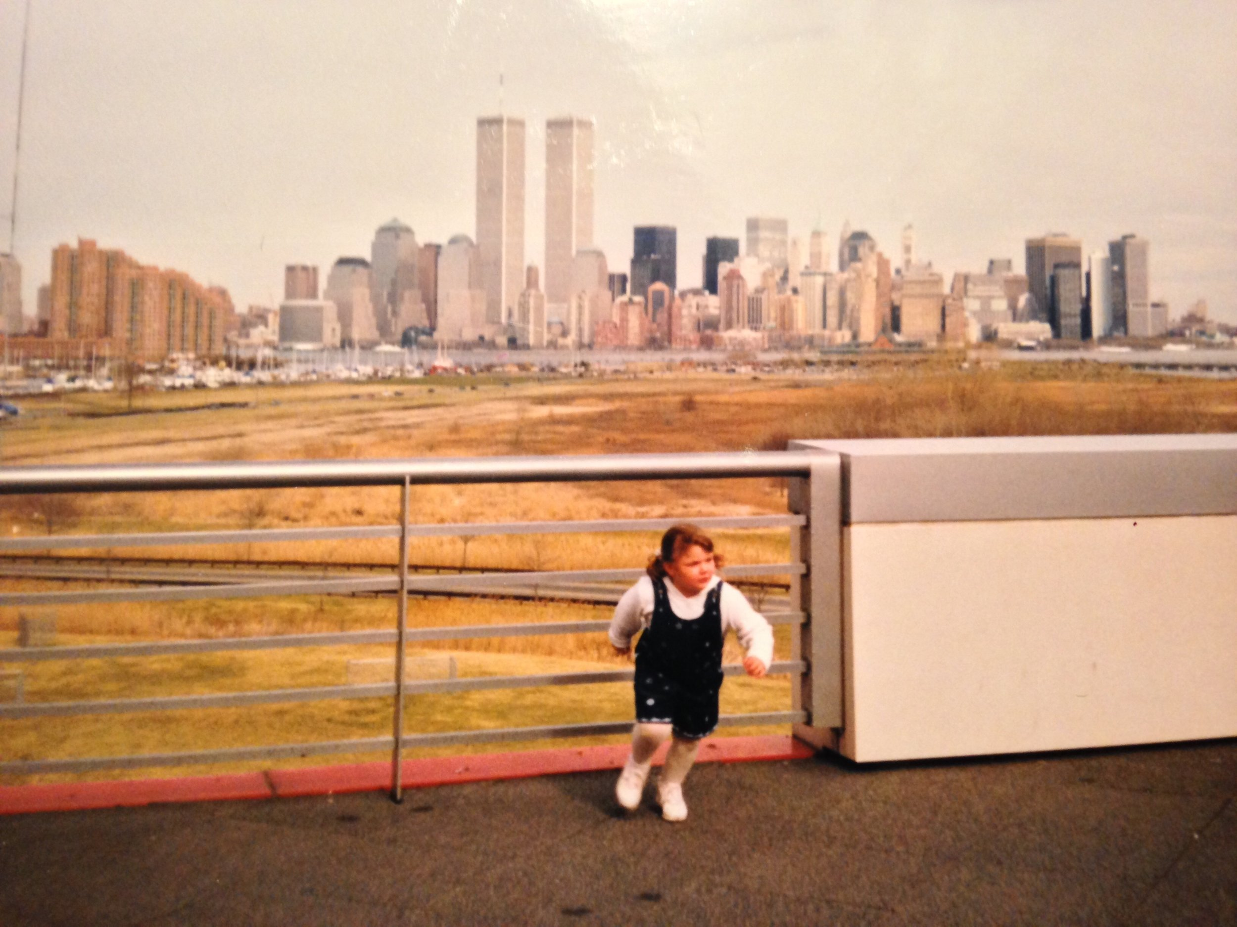 © Erin Carr, Me Running, By Dad, Jersey City, NJ