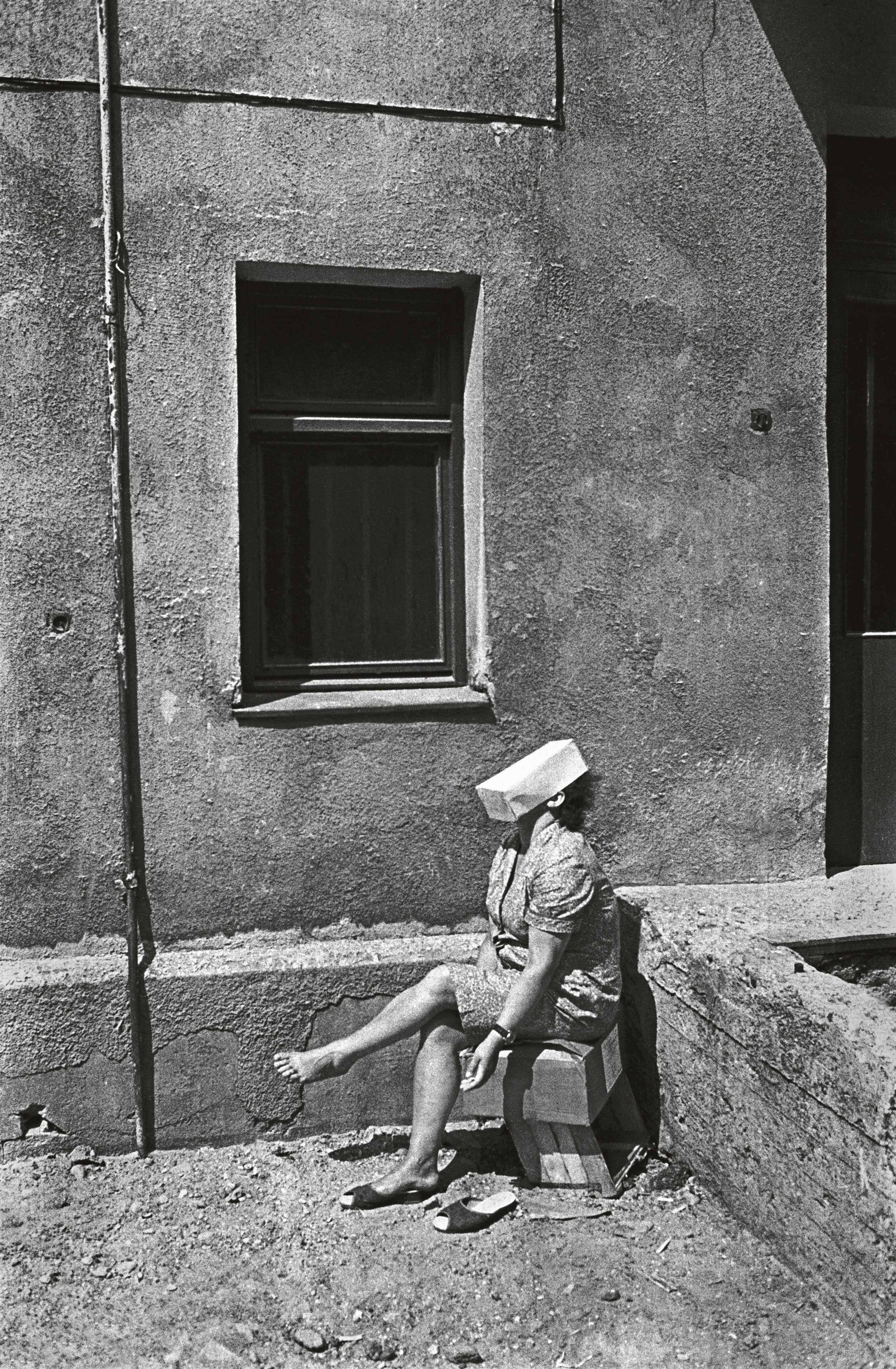 Romualdas Po  žerskis,   Old Towns of Lithuania   , 1976-1982.   Daily Life: Photography from Lithuania   on view at The Print Center, Philadelphia.