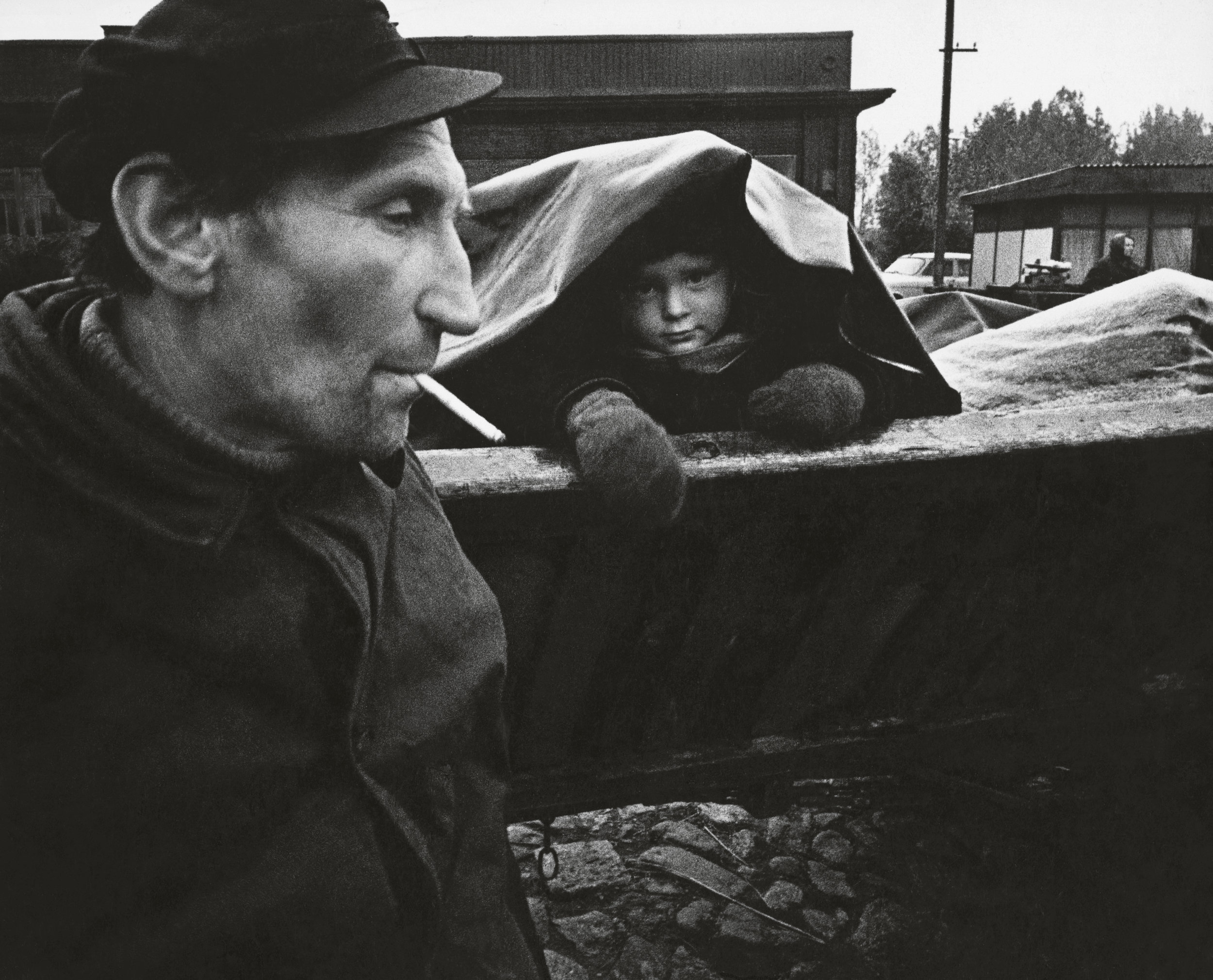 Aleksandras Macijauskas, In Lithuania Rural Markets , 1973. Daily Life: Photography from Lithuania on view at The Print Center, Philadelphia.