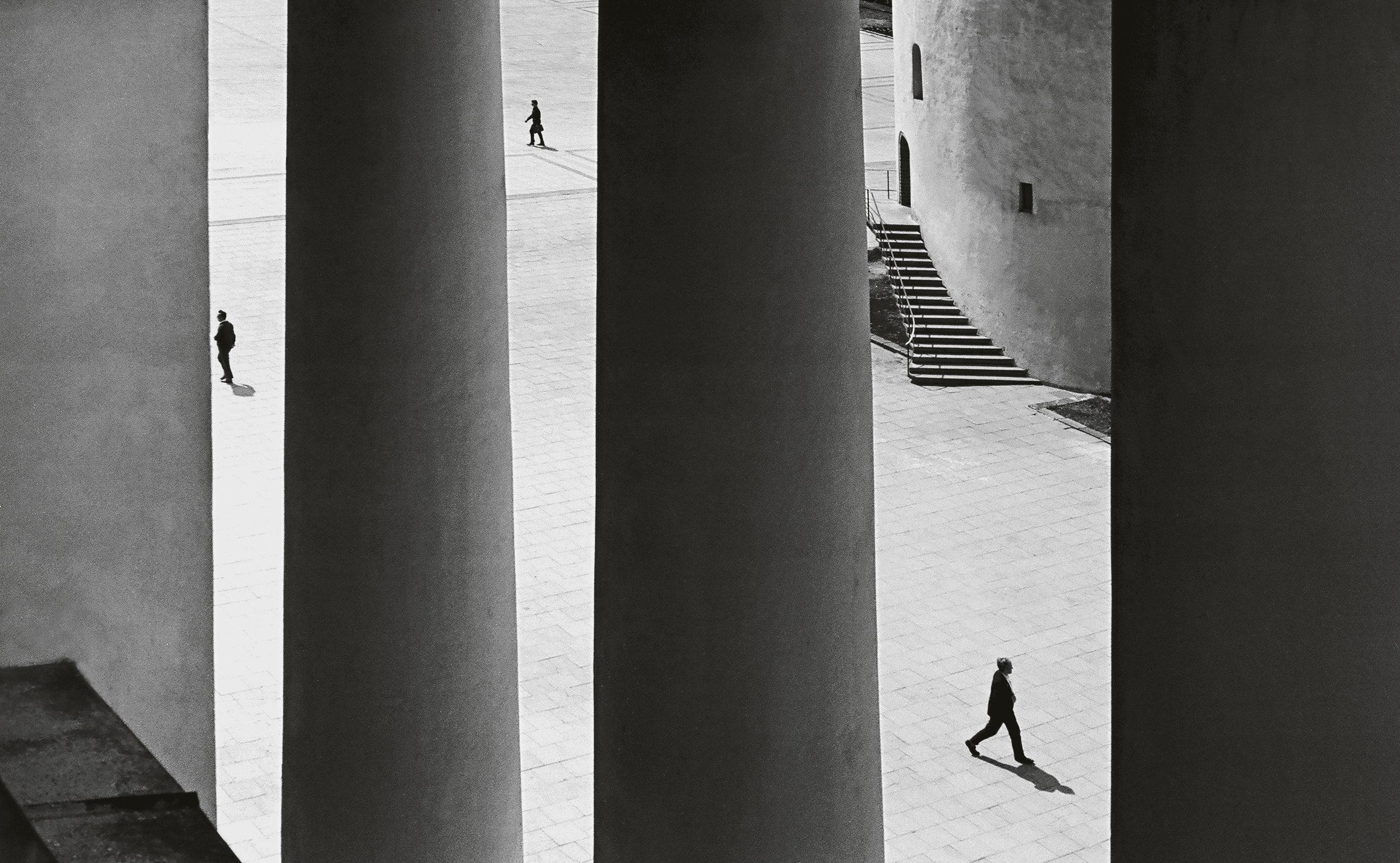 Romualdas Rakauskas,  Weekdays , 1963-1967. Daily Life: Photography from Lithuania on view at The Print Center, Philadelphia