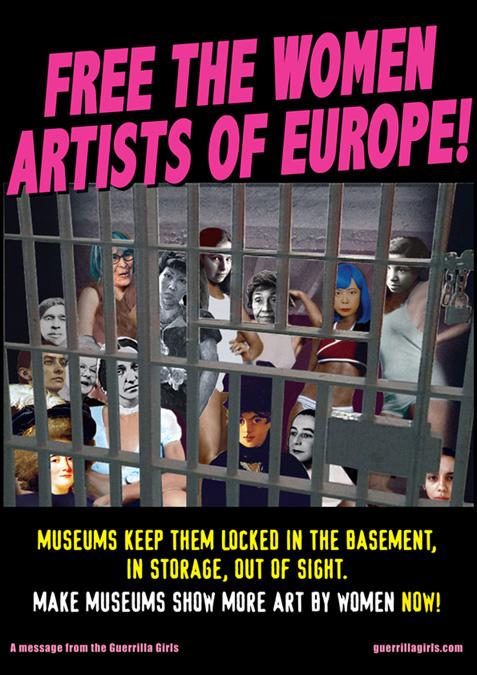 Free the Women Artists, 2011 © Guerrilla Girls