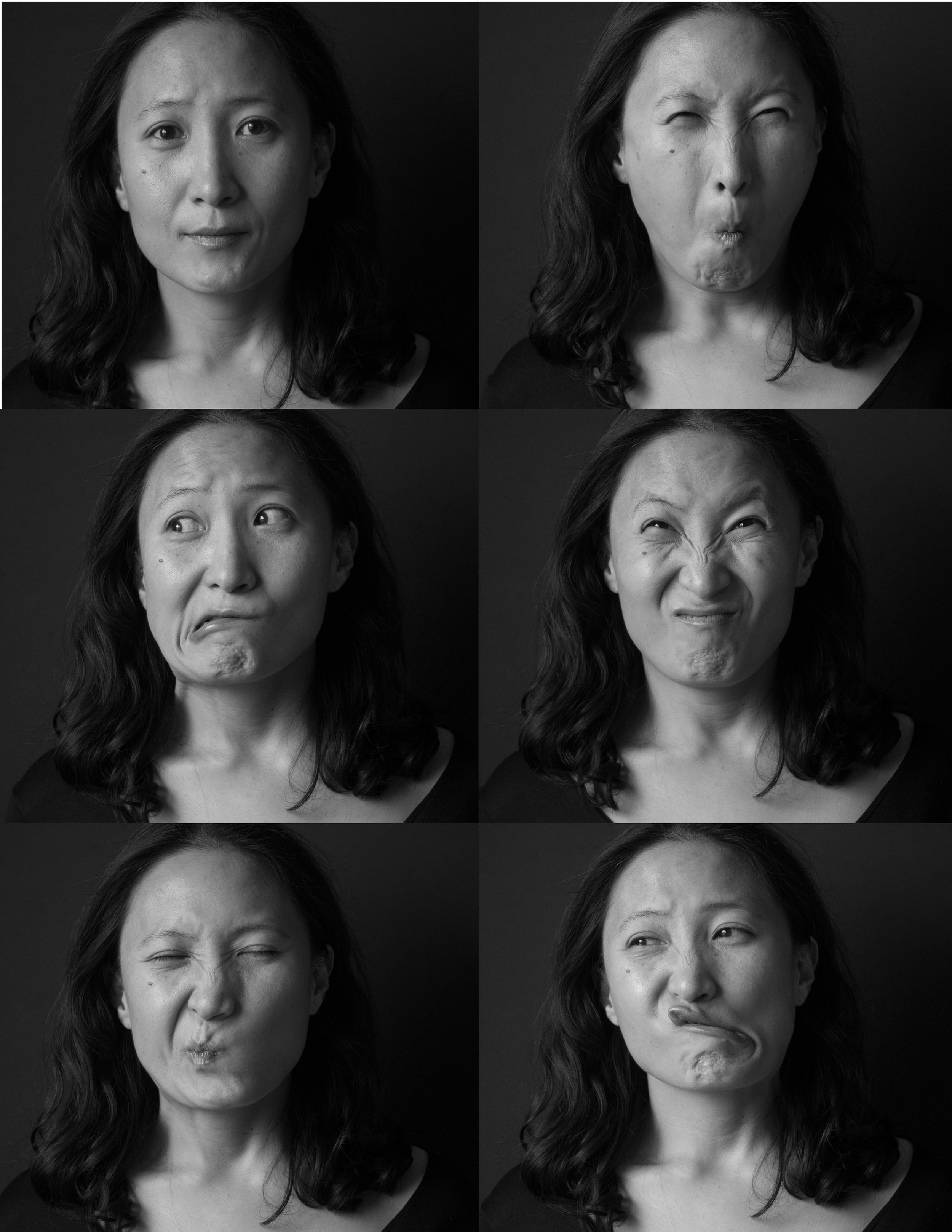 Portraits by Andrea Blanch. All images courtesy of the artist.