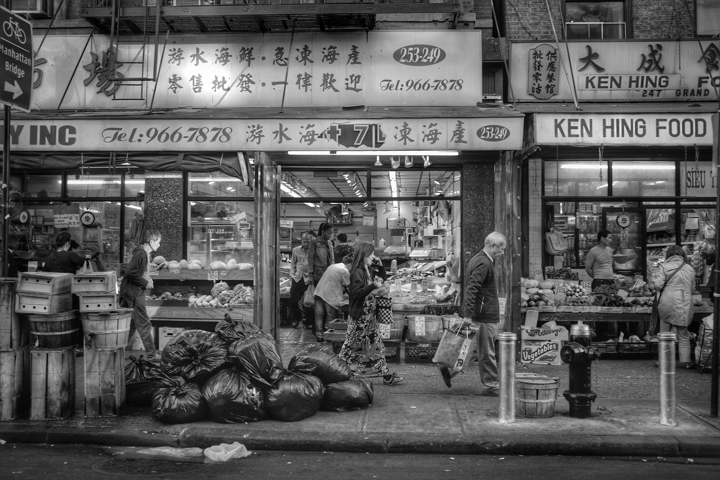 Ken Hing Food. Canal Street. Chinatown. New York City. 2016. © Matthew Kraus.