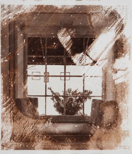 Image courtesy of Jackson Fine Art Atlanta. Matthew Brandt, JFA Window 4, 2017