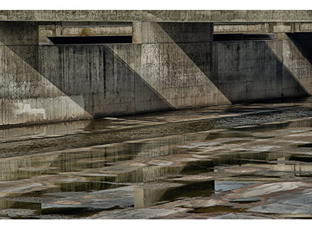 """LA River #43, 2014  Archival pigment print  21.5"""" x 32"""""""" or 13.5"""" x 20.5"""""""