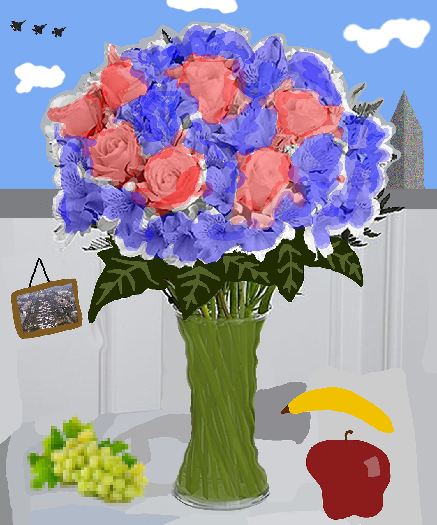 Flowers for donald #21 (a nice day [with some fruit])