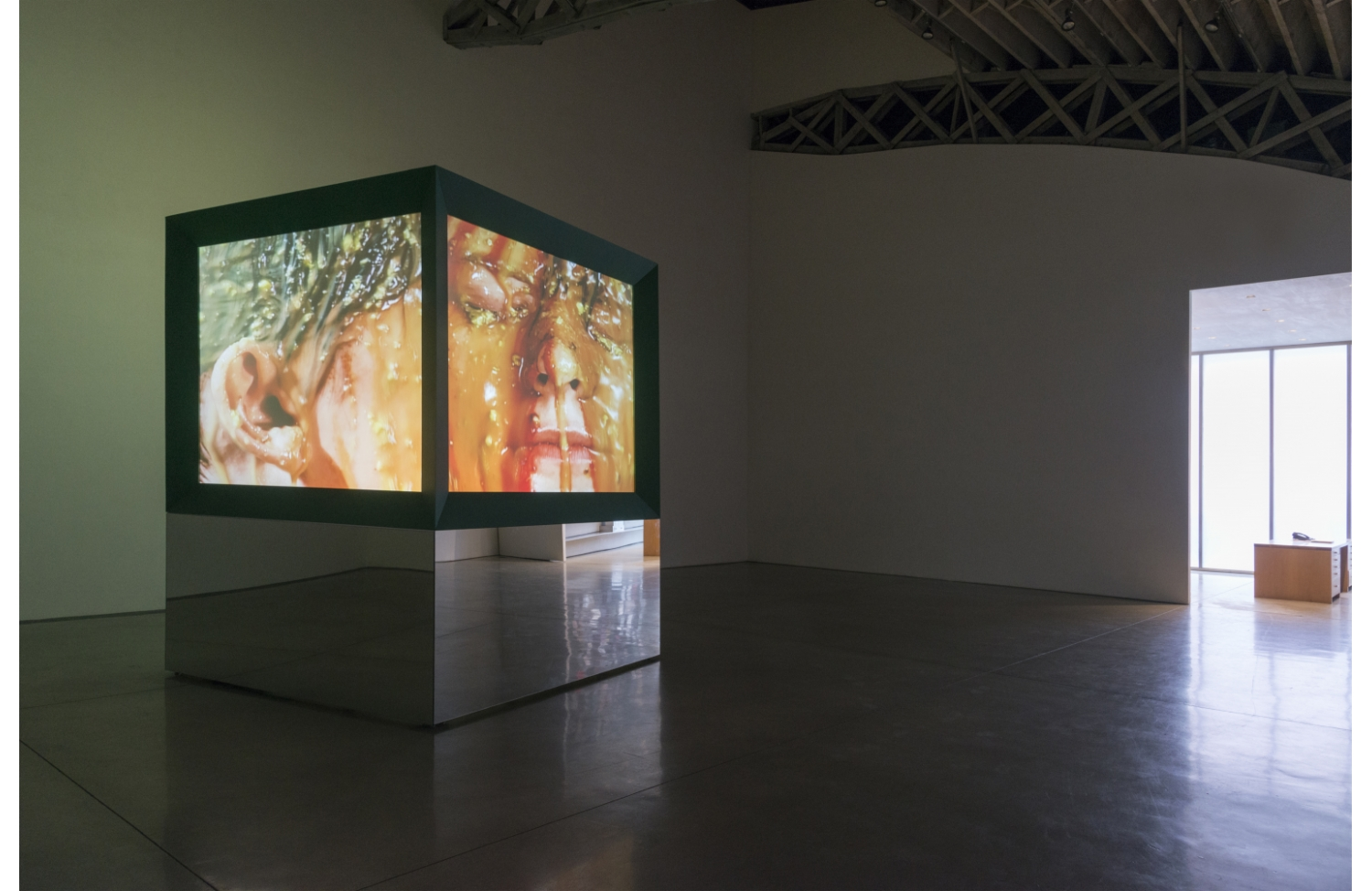 Image courtesy of Mary Boone Gallery, Judith Barry.  Curated by Piper Marshall