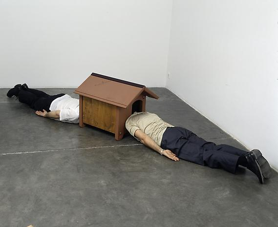 ERWIN WURM  Confessional , 2003.Courtesy the artist and Lehmann Maupin, New York and Hong Kong