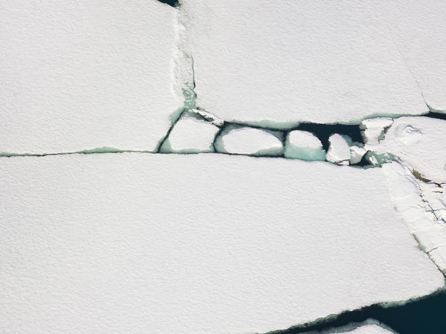 Relics, Isfjorden, Norway  © Diane Tuft, courtesy Marlborough Gallery .