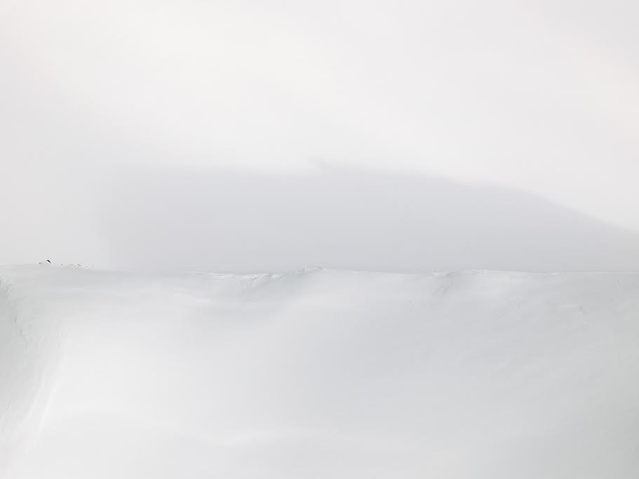Tuft, Shadow's Edge, Recherchebreen, Wedel Jarisberg Land  © Diane Tuft, courtesy Marlborough Gallery