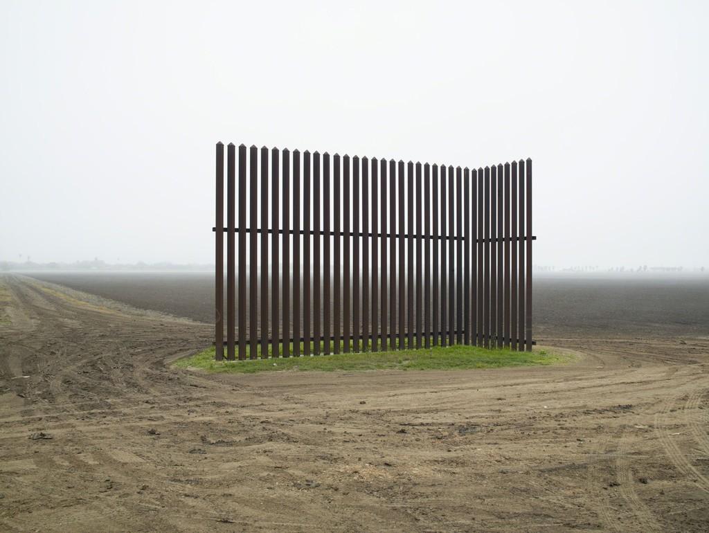 Wall, Los Indios, Texas, 2015 / El muro, Los Indios, Texas, 2015  , 2015 Pigment print mounted to Dibond 60 × 80 in 152.4 × 203.2 cm Edition of 5 + 1AP