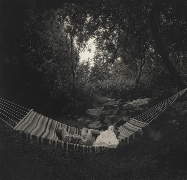 Pentti Sammallahti. Kemiö, Finland (hammock), 1996. Gelatin silver print. 11 3⁄4 x 91⁄2 in. (29.8 x 24.1 cm)