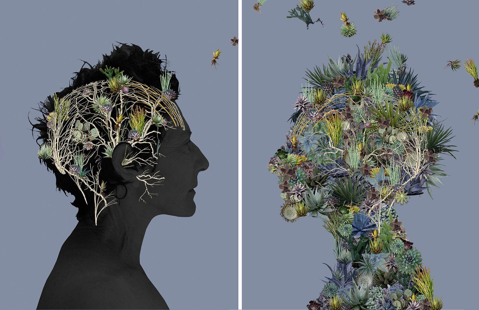 Noisy Brain , Creative Growth ©Sandra Klein
