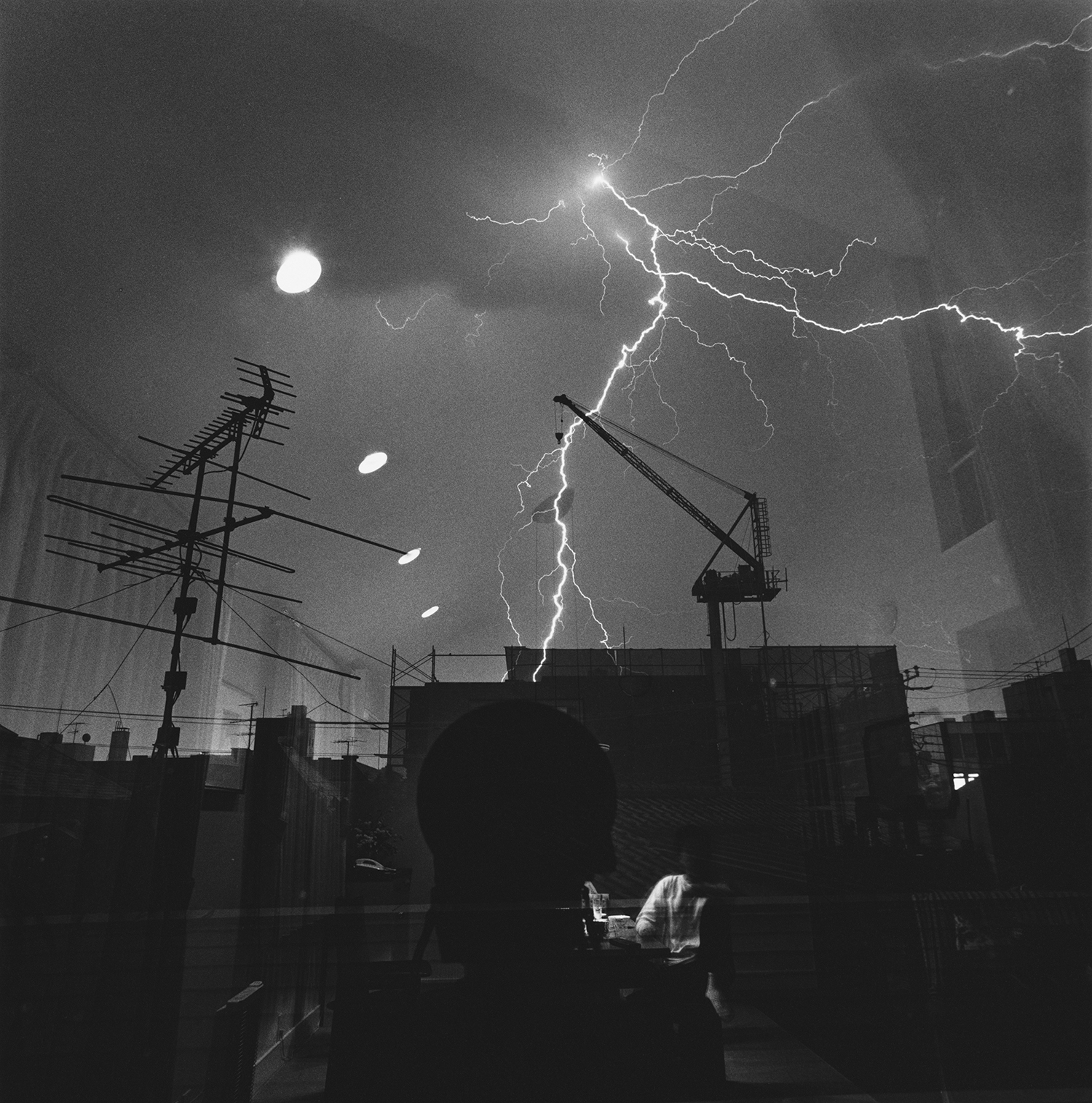 Thunderbolts  (1992) from  T he Last Cosmology    (2015) by Kikuji Kawada, published by MACK    mackbooks.co.uk