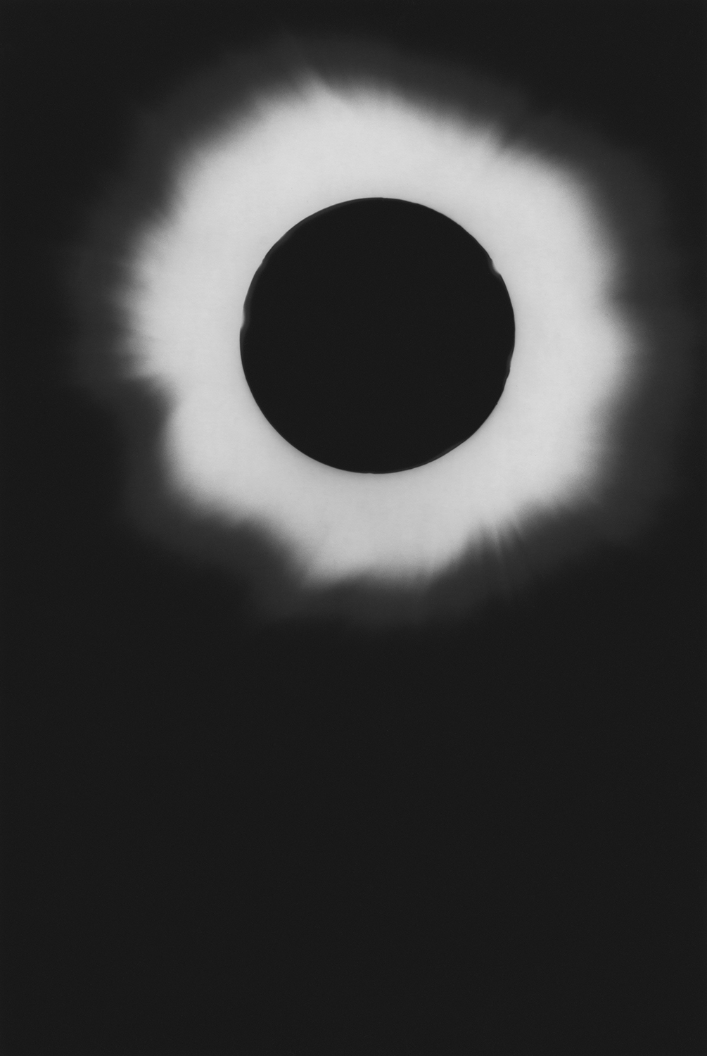The Last Total Eclipse of the Sun in the 20th century  (1999) from  T he Last Cosmology    (2015) by Kikuji Kawada, published by MACK    mackbooks.co.uk