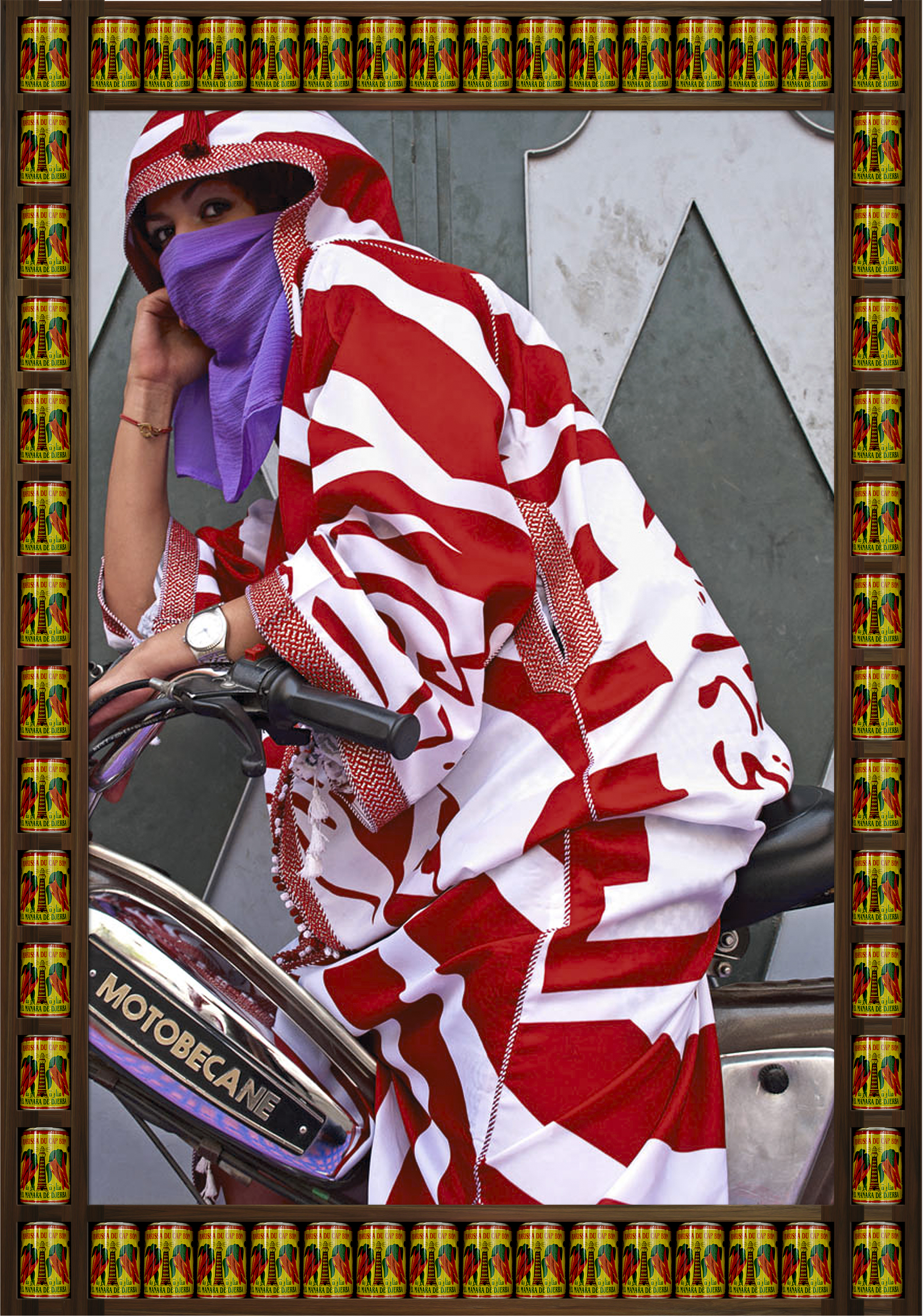 'Brown Eyes' ©  Hassan Hajjaj