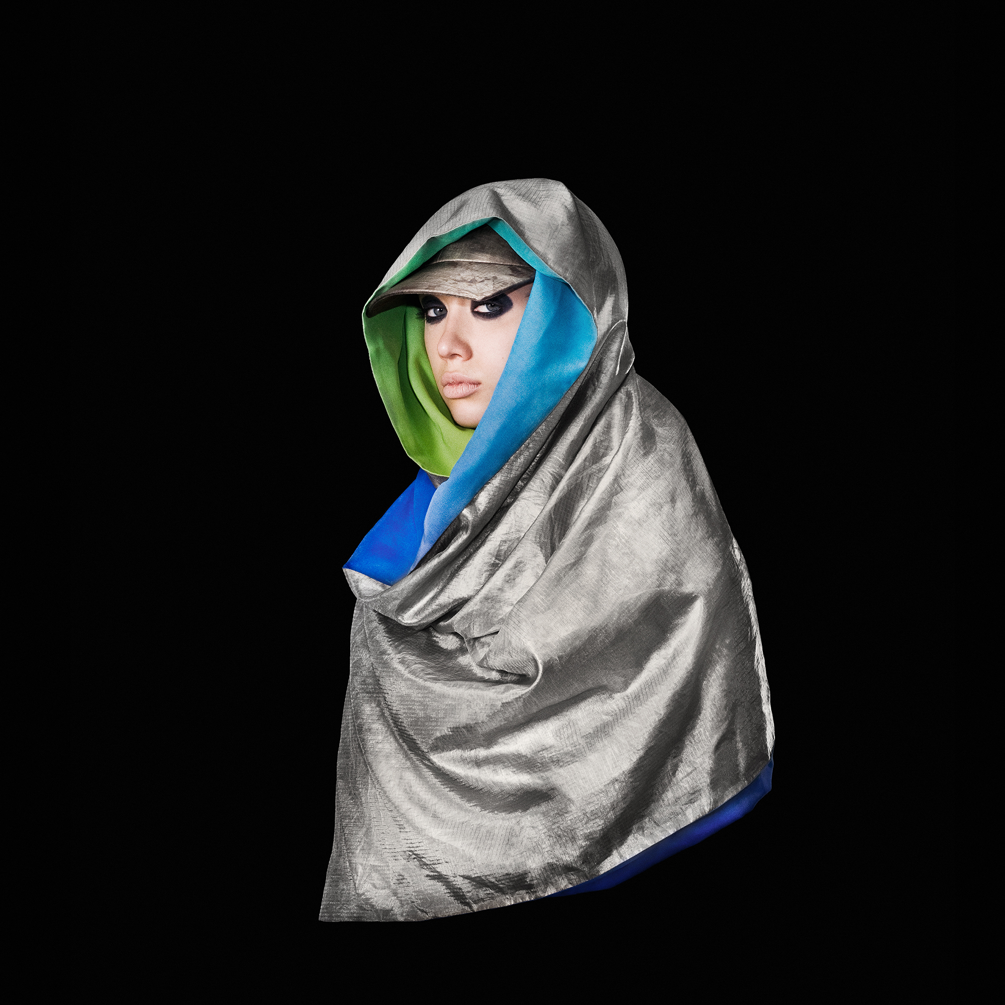 'Anti-Drone Hijab' 2013  © Adam Harvey