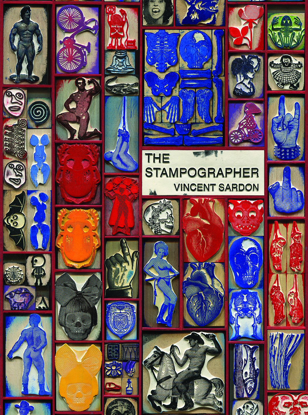 Excerpt from  Vincent Sardon: The Stampographer (Siglio Press, 2017). All rights reserved