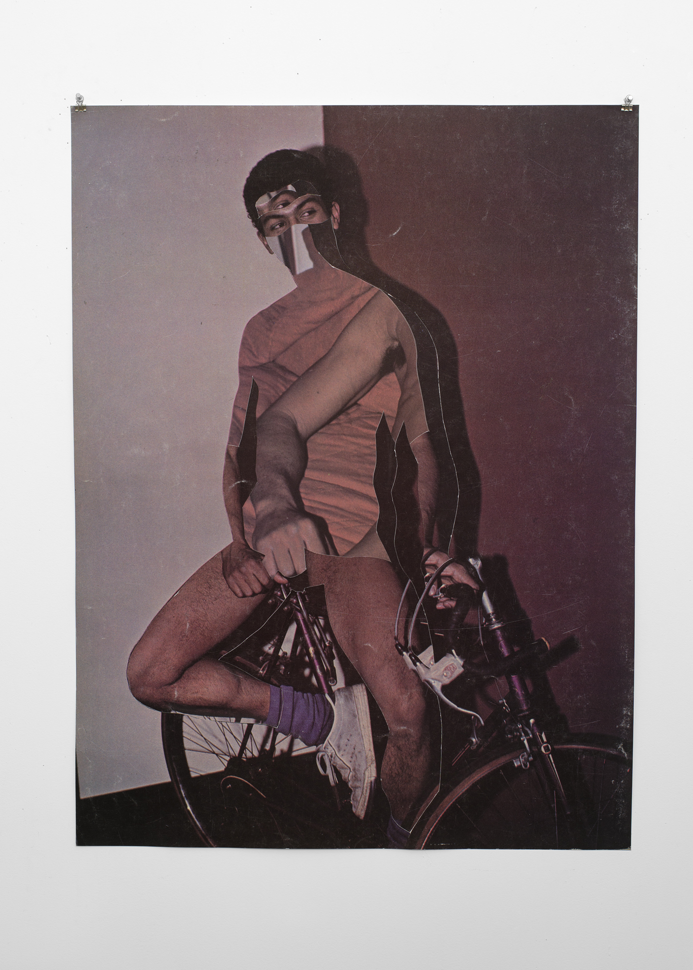 Troy Michie,  La Bicicleta , 2015. Digital inkjet print collage, 41 ½ × 35 in (105.4 × 89 cm). Courtesy the artist