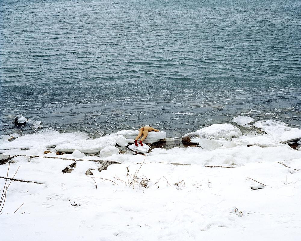 Sea (Lake Michigan) , 2014 © Guanyu Xu