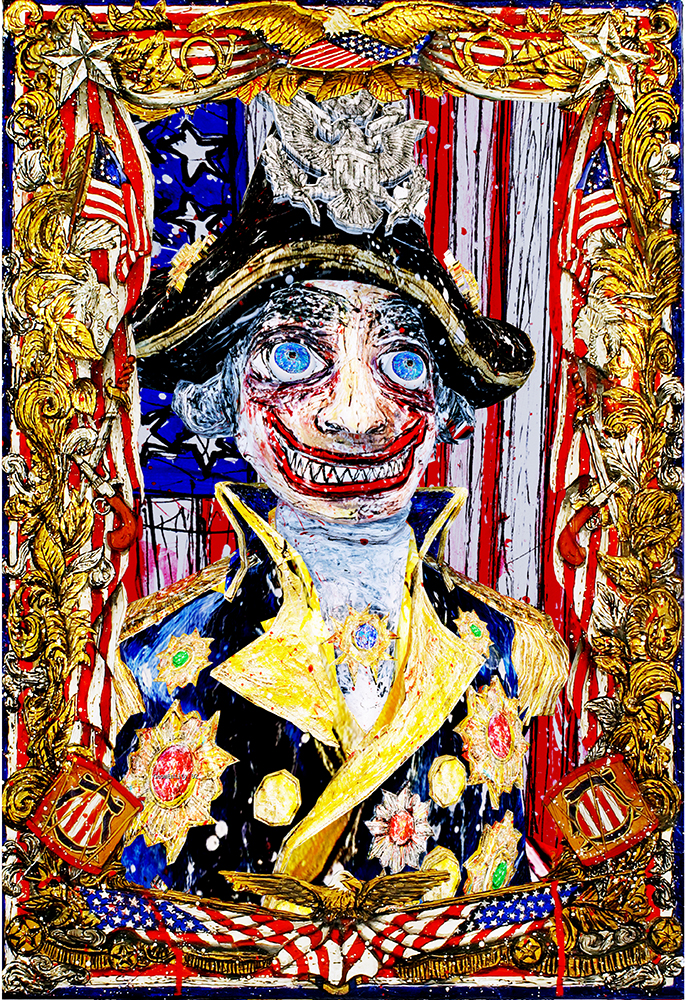 'The Freedom Fighter',  Federico Solmi, 2015,Courtesy Luis De Jesus Los Angeles