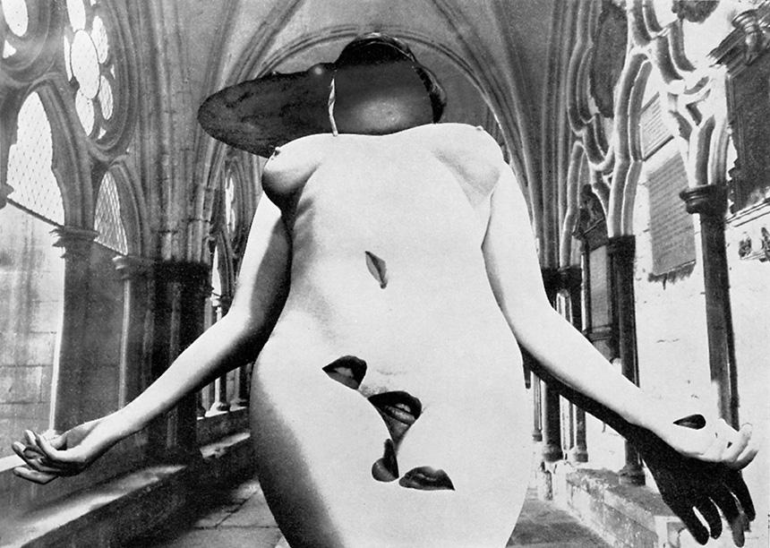 Clues to the Stigmata Myth, 1969  © Penny Slinger