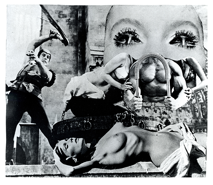 Passivity is the active Fantasy, 1969  © Penny Slinger