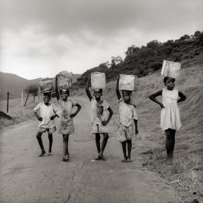 ©Margo Davis,  Carrying Home Mangoes , 1970