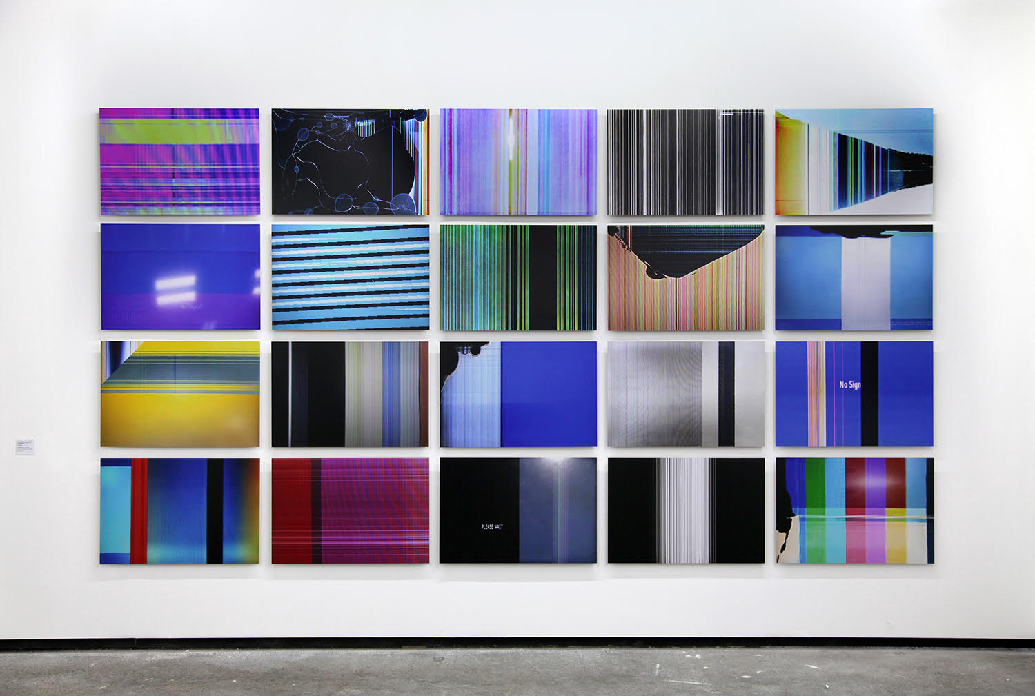 Broken Sets (Group 005) from Broken Sets (eBay),  2011 Installation view at Les Rencontres d'Arles, 2011 Courtesy the Artist and Les Rencontres d'Arles