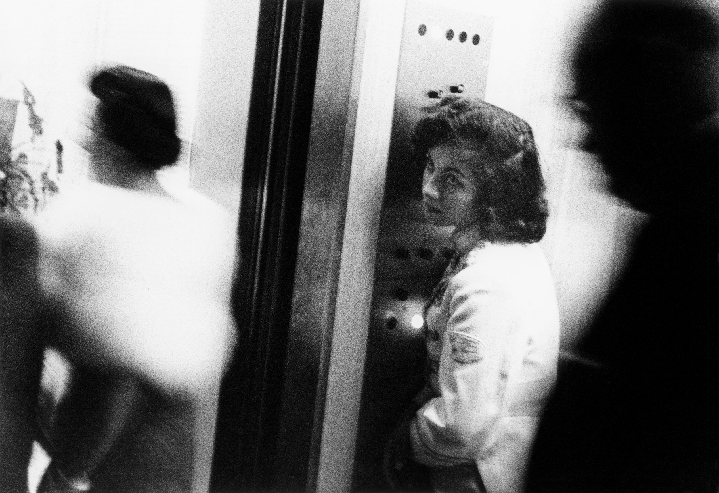 Elevator, Miami Beach 1955. From The Americans.  © Robert Frank