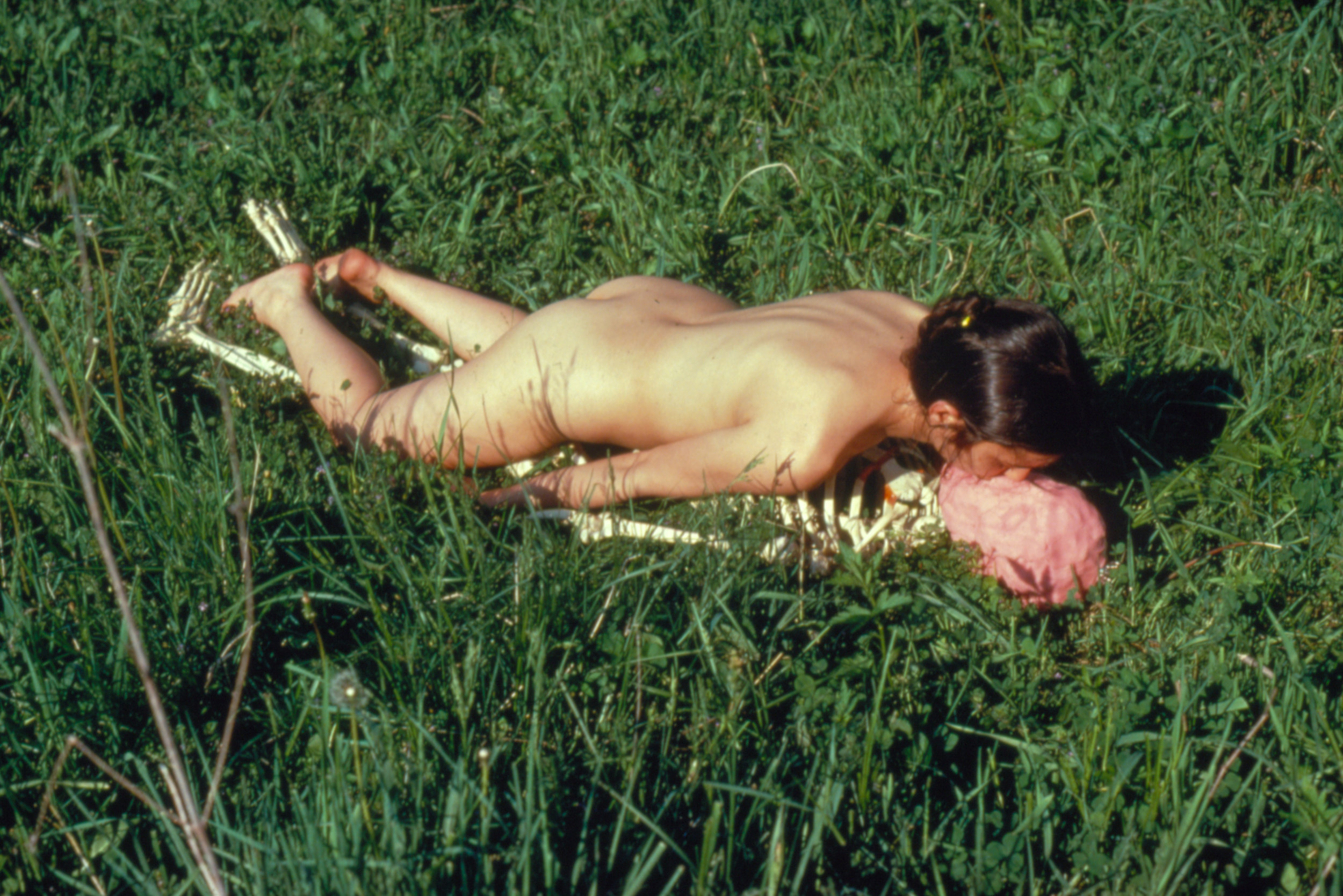 On Giving Life , 1975 Photograph © The Estate of Ana Mendieta Collection, LLC,Courtesy Galerie Lelong, New York