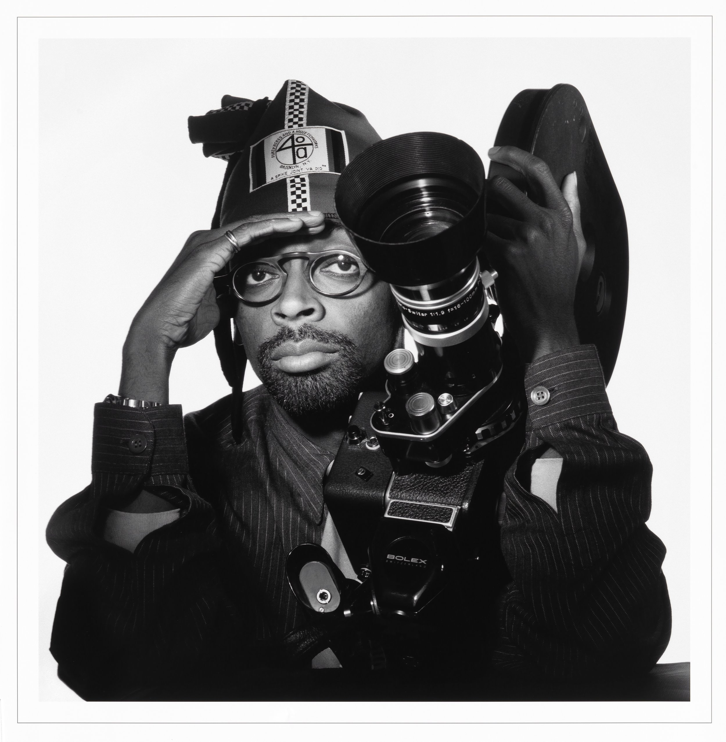 Spike Lee     by Jesse Frohman    Inkjet print on paper    c. 1990 (printed 2014)    National Portrait Gallery, Smithsonian Institution   ©  1999, Jesse Frohman