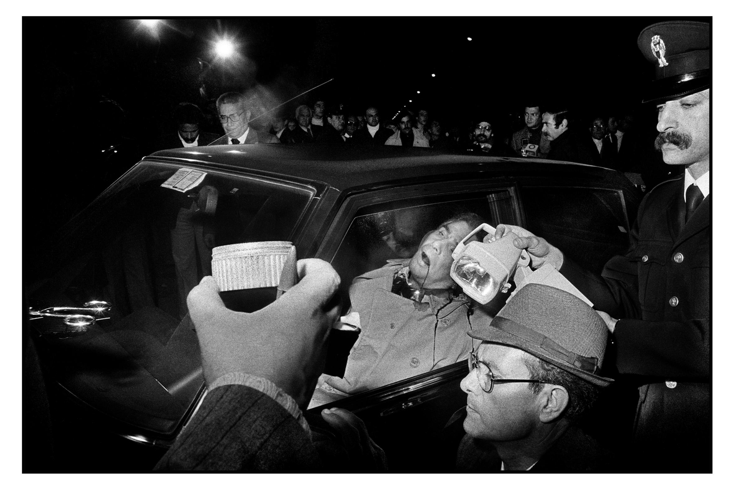 Letizia Battaglia, Omicidio in macchina, 1979
