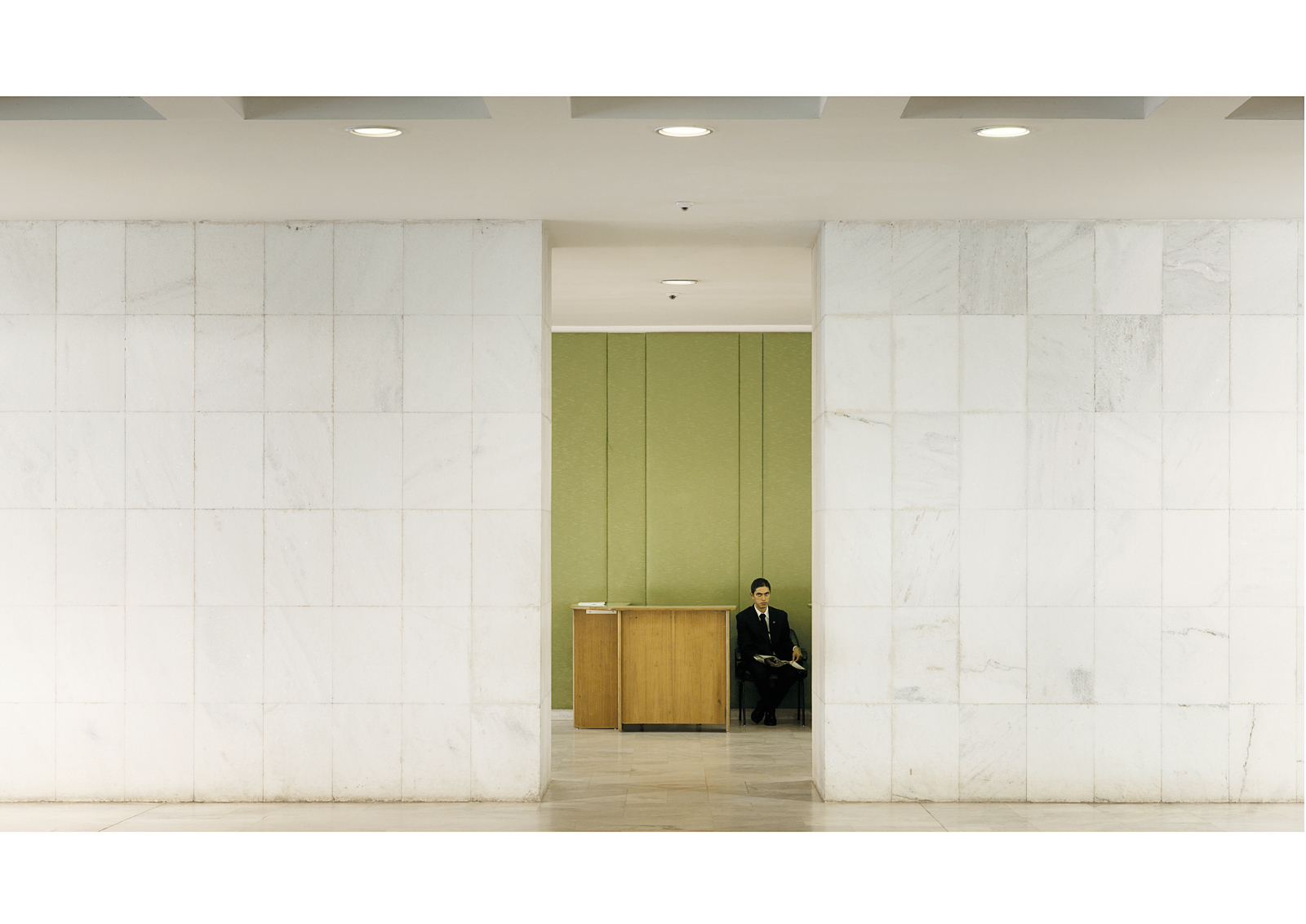 The Itamaraty Palace, Brasilia, 2012  © Vincent Fournier