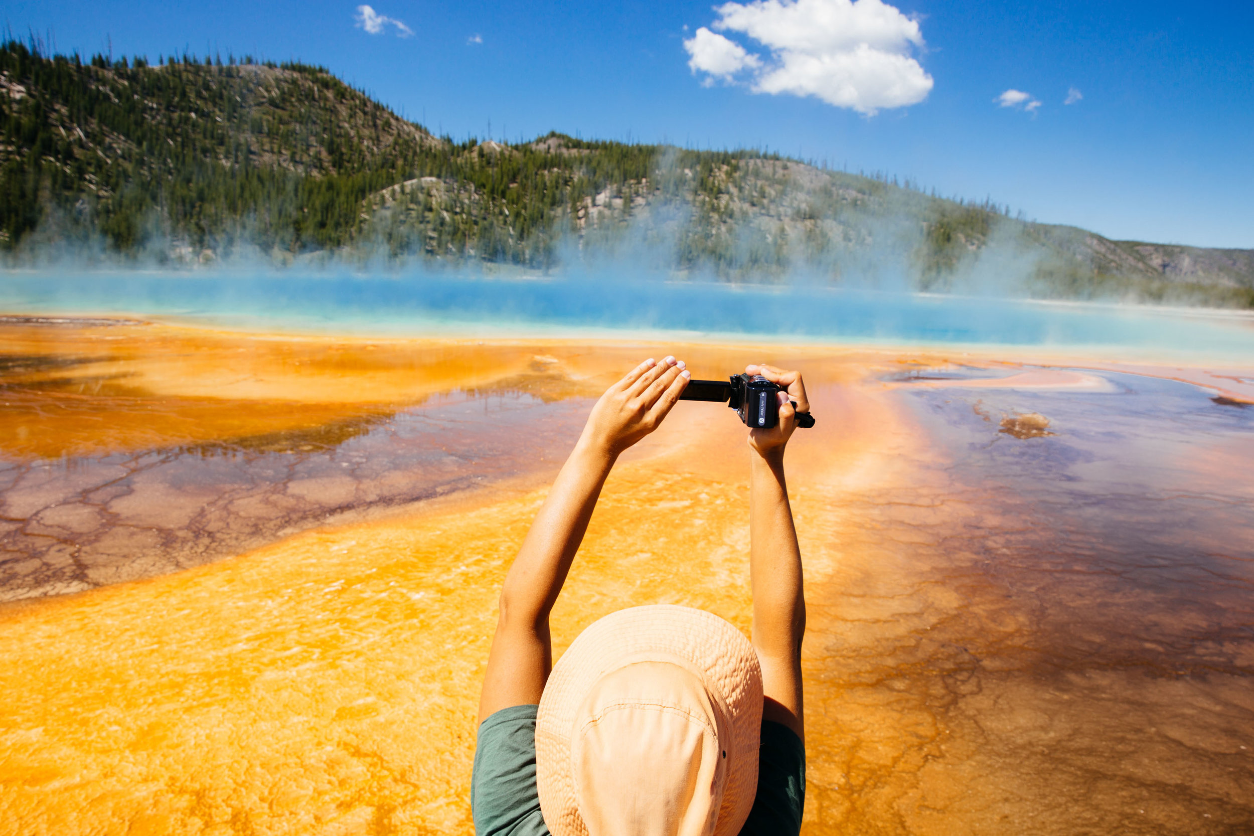Grand Prismatic Spring, Yellowstone National Park  © Jennifer Emerling