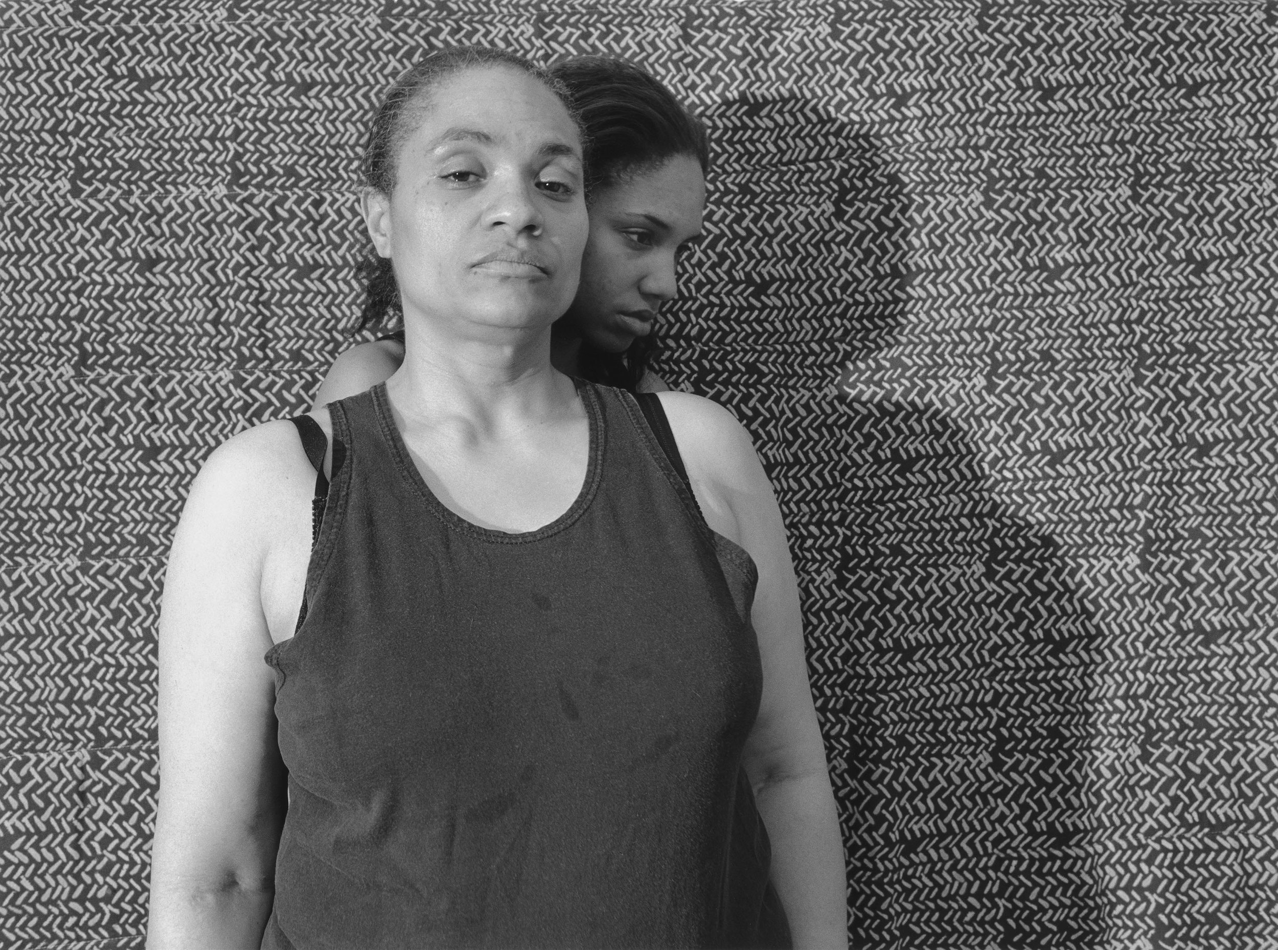 LaToya Ruby Frazier,  Momme (Shadow) , from Momme Portrait series, 2008, from  The Notion of Family  (Aperture, 2014)