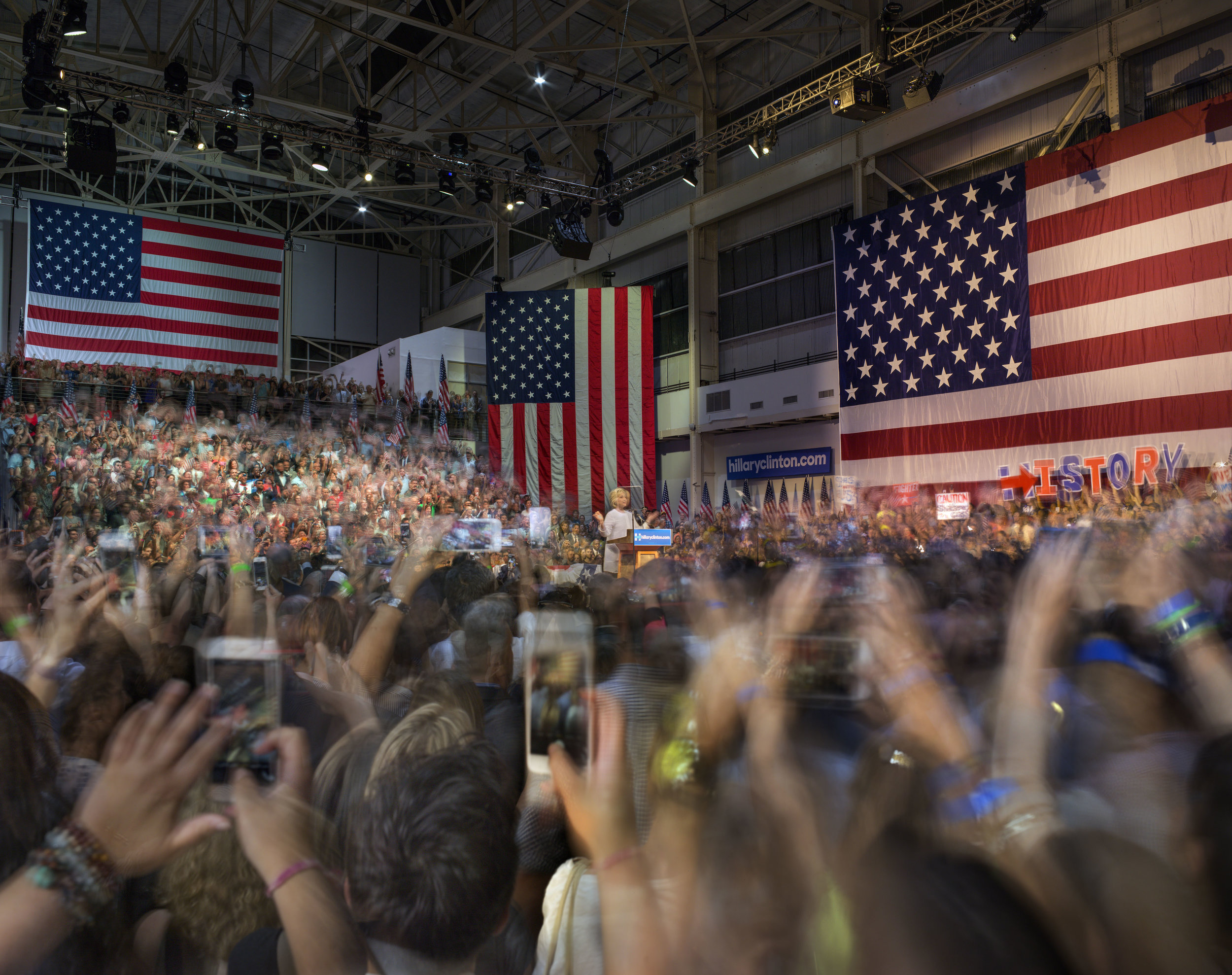 Matthew Pillsbury,  Hillary Clinton Becomes the Presumptive Democratic Nominee for the President of the United States , 2016.