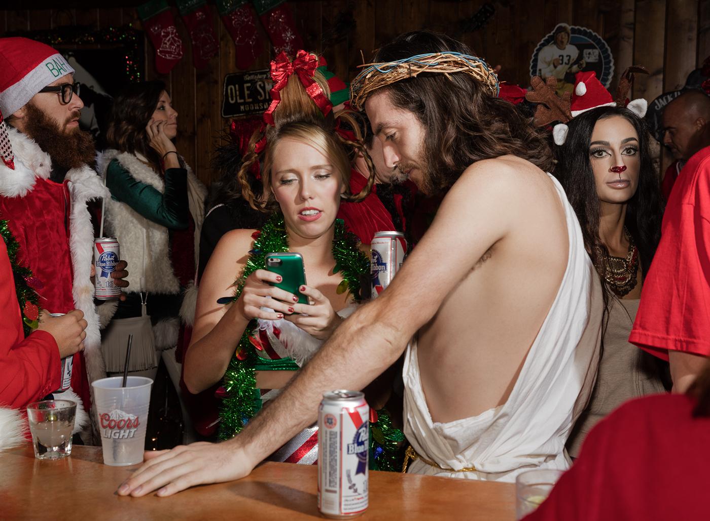 Cindy Lou Who Vs. Jesus,  Scottsdale, AZ . 2015 Rock Bar© Jesse Rieser